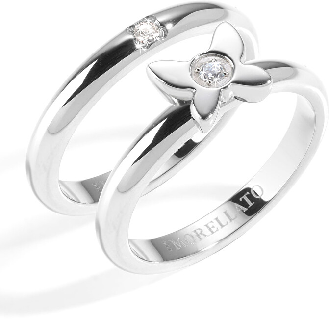 Morellato Ocelový prsten Love Rings SNA36 54 mm