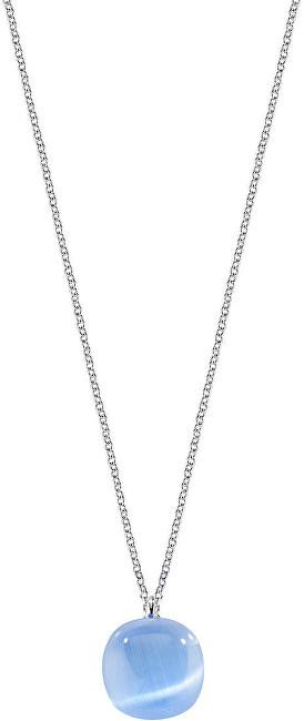 Morellato Stříbrný náhrdelník zdobený kočičím okem SAKK03