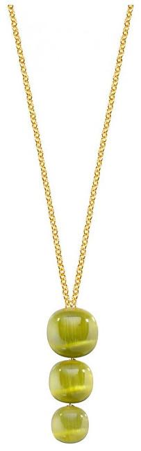 Morellato Stříbrný náhrdelník zdobený kočičím okem SAKK18
