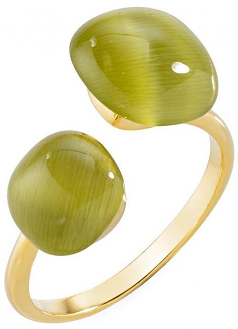 Morellato Stříbrný prsten zdobený kočičím okem SAKK32 52 mm