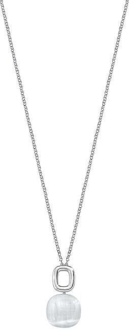 Morellato Krásny náhrdelník zdobený mačacím okom Gemma SAKK24 (retiazka, prívesok)