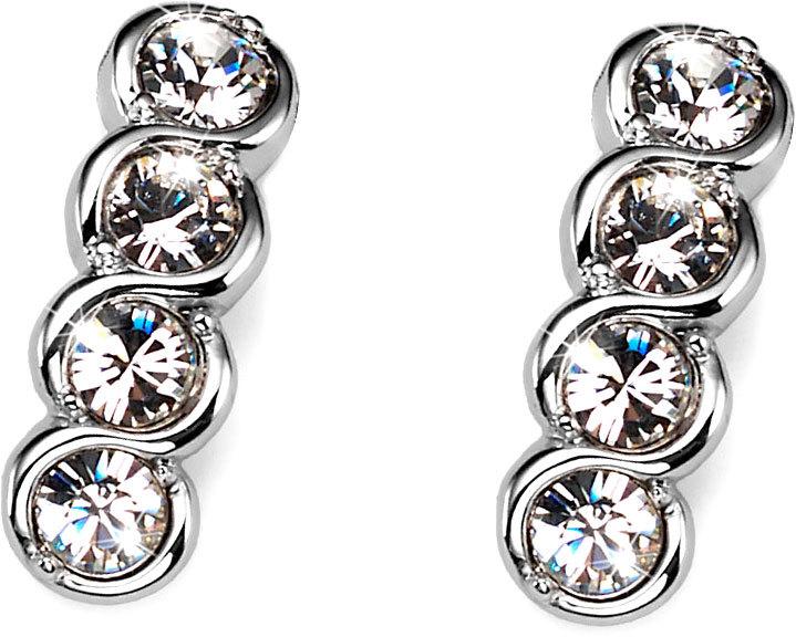 Oliver Weber Náušnice s kryštálmi Swarovski Four Crystal 9938-001