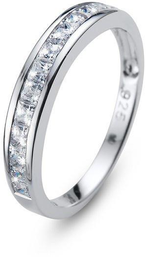 Oliver Weber Originální prsten s krystaly Foursquare 63231 S (49 - 52 mm)