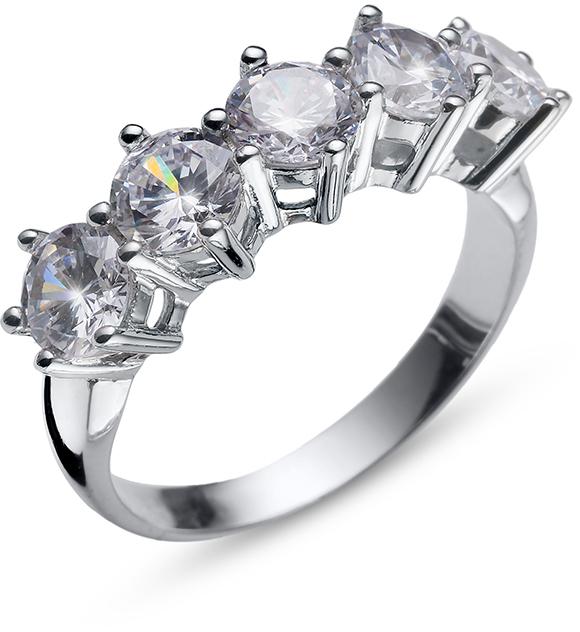 Oliver Weber Originální prsten s krystaly Friend 63235 M (53 - 55 mm)