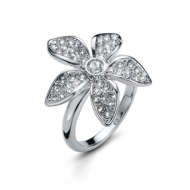 Oliver Weber Originální prsten s krystaly Wonder 41146 M (53 - 55 mm)
