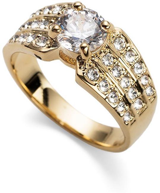 Oliver Weber Pozlacený prsten Working Inspire 41125