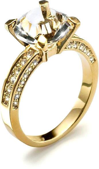 Oliver Weber Zásnubní prsten Princess 2459G M (53 - 55 mm)