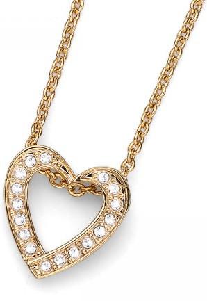 Oliver Weber Romantický pozlacený náhrdelník Beach Love 11703G