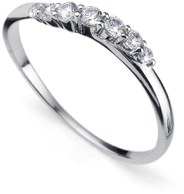 Oliver Weber Stříbrný prsten s krystaly Petite 63227R L (56 - 59 mm)