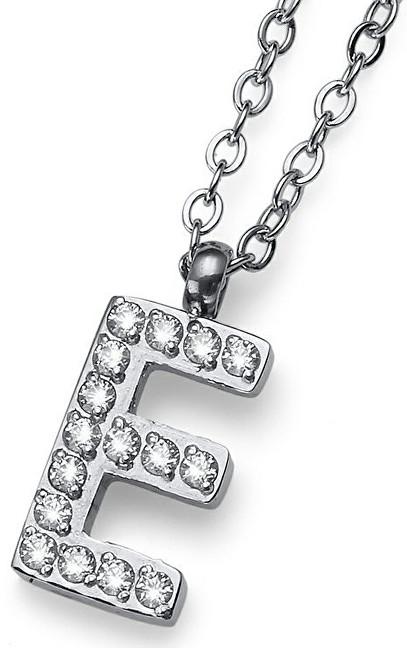 Oliver Weber Stylový náhrdelník Initial E 11834