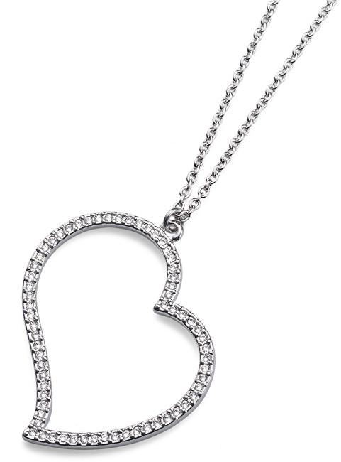 Oliver Weber Trendy náhrdelník se srdcem 11636R