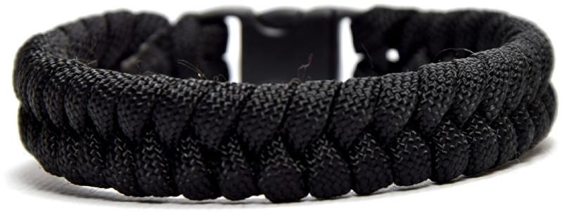Cordell Paracord náramek Fishtail Černý XL