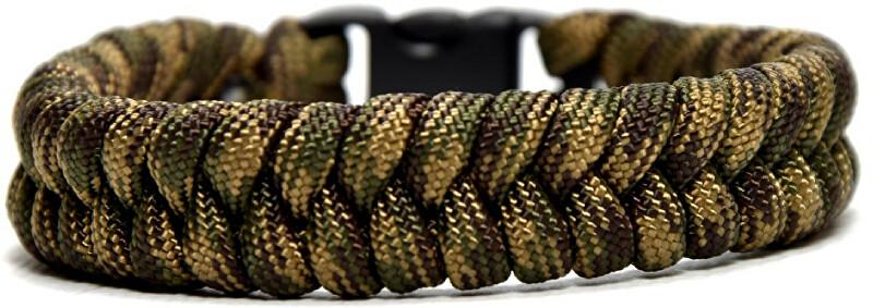 Cordell Paracord náramek Fishtail Zelený XL