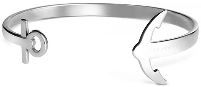 Paul Hewitt Pevný ocelový náramek ve tvaru kotvy PH-CU-S M - 6,1 cm