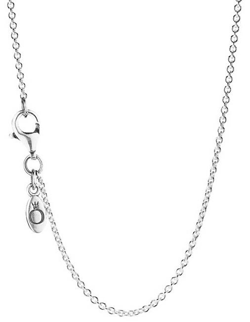 Pandora Jemný strieborný retiazka 590412 45 cm