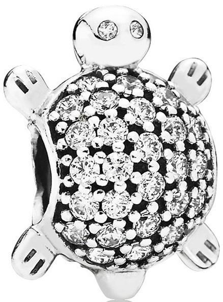 Pandora Luxusní korálek Mořská želva 791538CZ