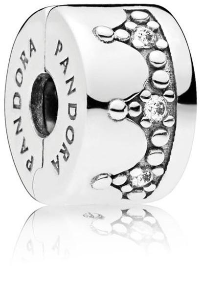 Pandora Stříbrný klip Královská koruna 797634CZ