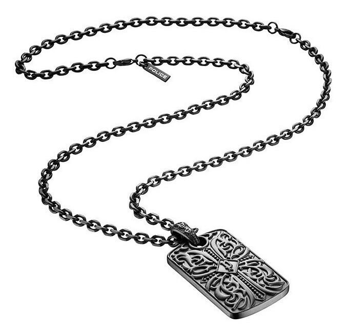 Police Dizajnový pánsky náhrdelník PJ25908PSB
