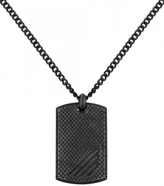 Police Pánský náhrdelník Havasu černý PJ26475PSEB/02