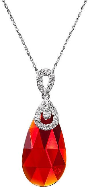 Preciosa Náhrdelník Ruby Glow Siam 6786 63