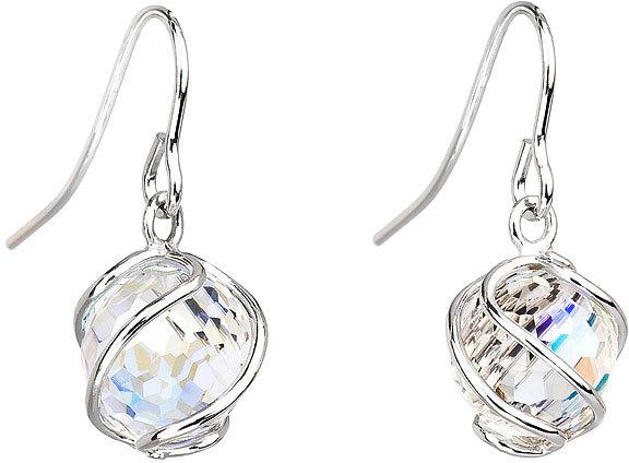 Fotografie Preciosa Náušnice Romantic Beads Crystal AB 6716 42