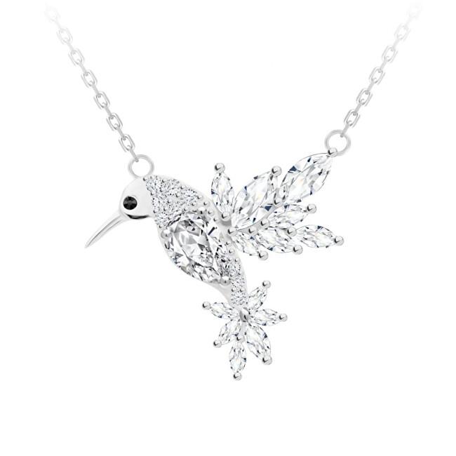 Preciosa Krásny náhrdelník Kolibrík Gentle Gem 5290 00