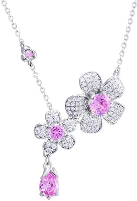 Preciosa Květinový náhrdelník Clematis 5222 69