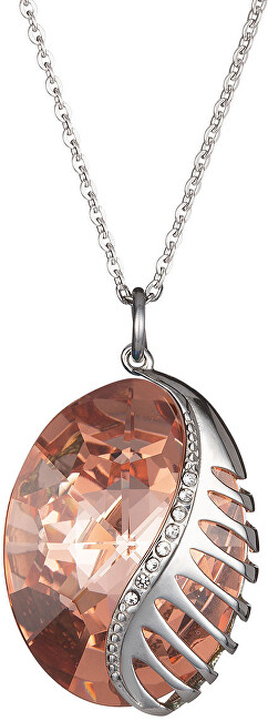 Preciosa Náhrdelník Fairy Tale Fantasy s krystalem Apricot 7222 49