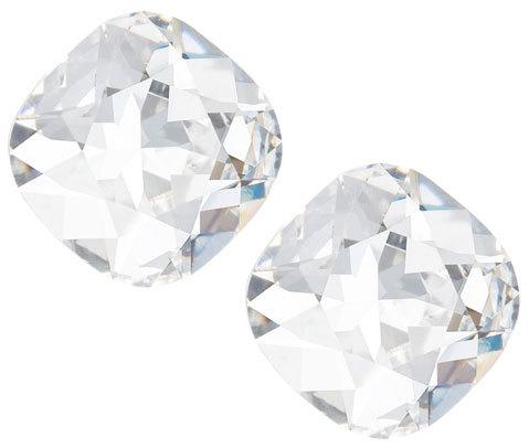 Preciosa Náušnice s čirým krystalem Brilliant Rose 6012 00