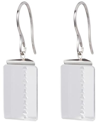 Preciosa Ocelové náušnice Crystal Excellence 7269 00