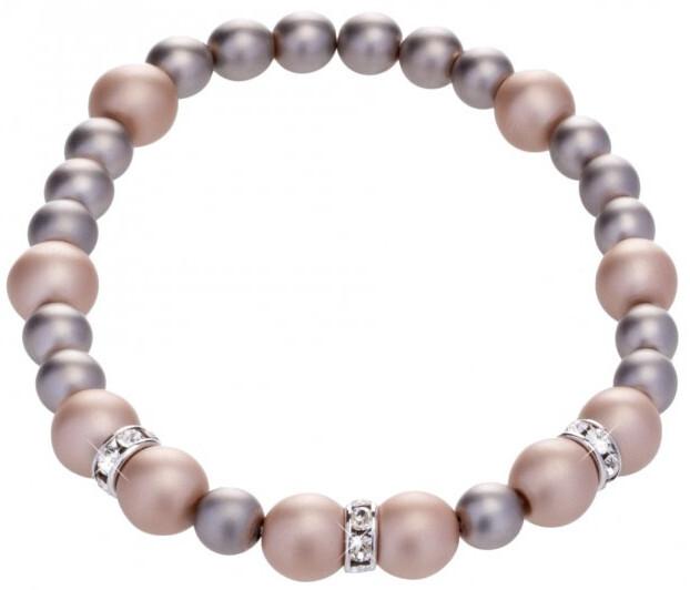 Preciosa Perličkový náramek Silky Pearl 2270 02
