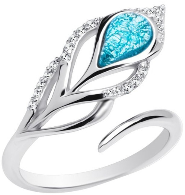 Preciosa Stříbrný prsten Penna 6105 29