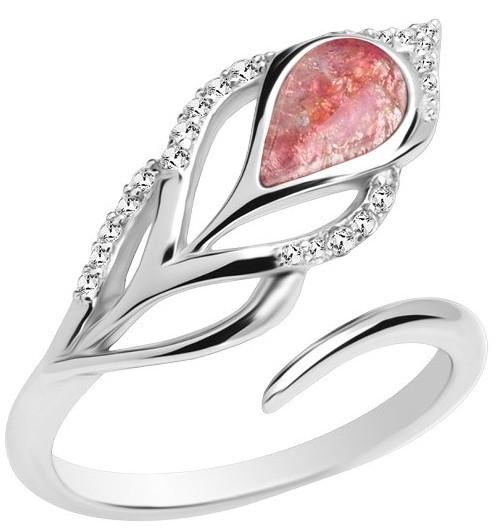Preciosa Stříbrný prsten Penna 6105 69