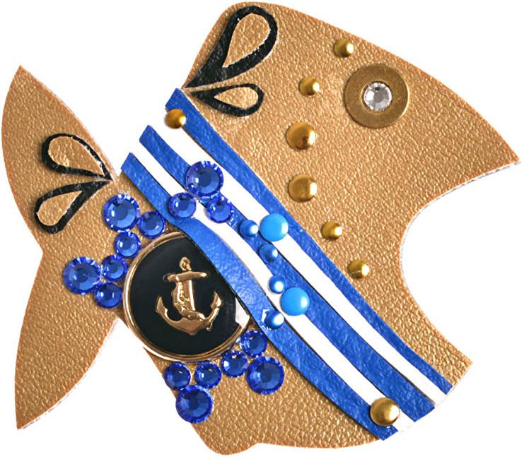 Petra Švarcová Námořnická brož Ryba