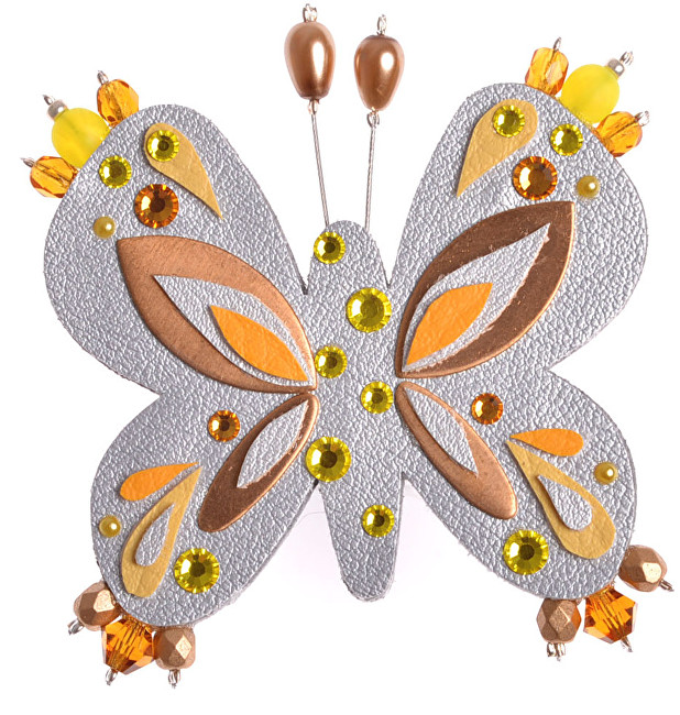Petra Švarcová Argint fluture fluture