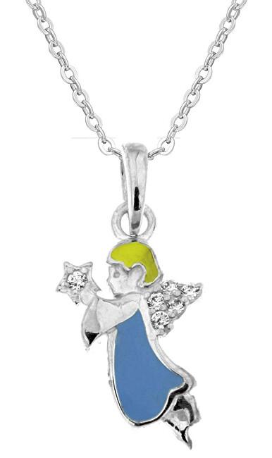 Praqia Krásny detský náhrdelník Anjelik KO8087_BR030_40_RH (retiazka, prívesok)