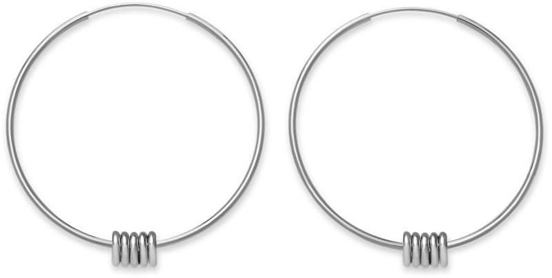 Rosefield Ocelové kruhové náušnice Iggy JSHLS-J068