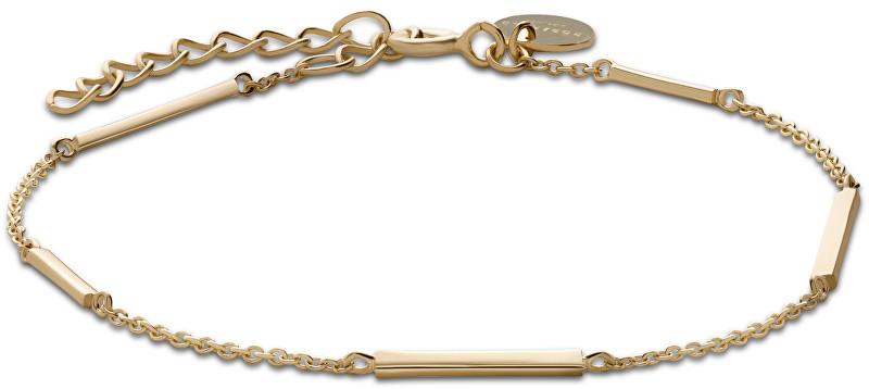 Rosefield Pozlacený náramek ze stříbra Chrystie JCHG-J006