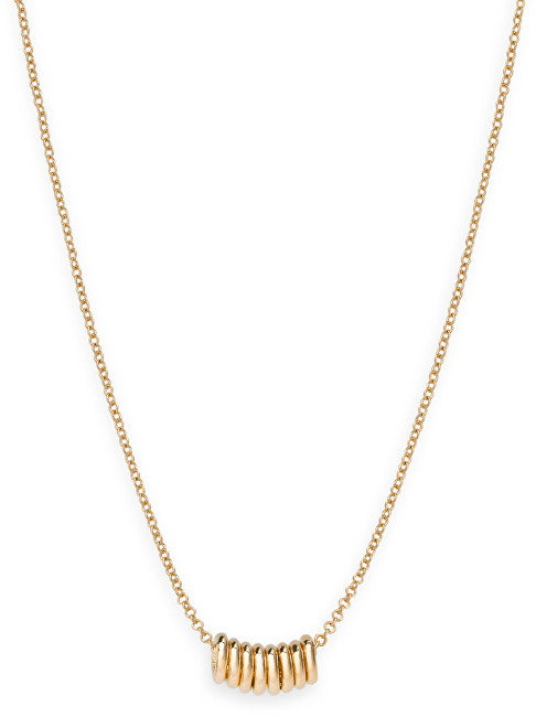 Rosefield Pozlacený ocelový náhrdelník Iggy JMHNG-J069