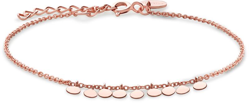 Rosefield Růžově pozlacený náramek ze stříbra Baxter JBAR-J012