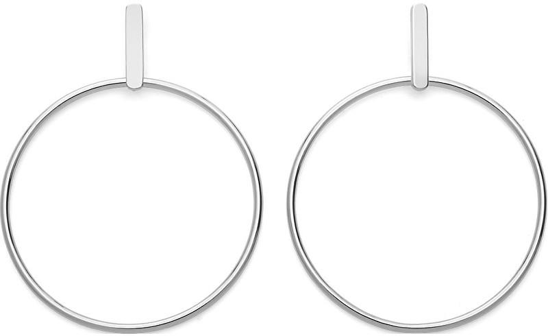 Rosefield Výrazné kruhové náušnice Iggy JHBES-J073