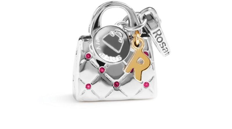 Rosato Stříbrný přívěsek My Bags RBA017