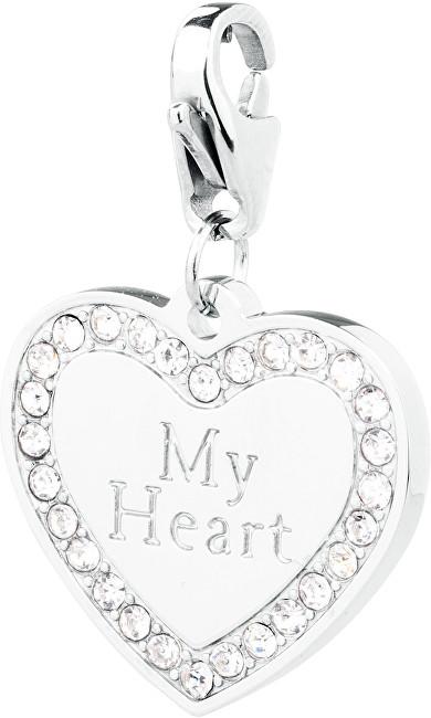 S`Agapõ Zamilovaný přívěsek My Heart Happy SHA61