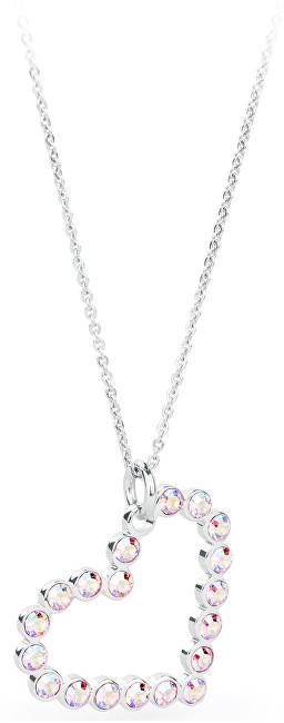 S`Agapõ Srdíčkový náhrdelník Aura SAU01