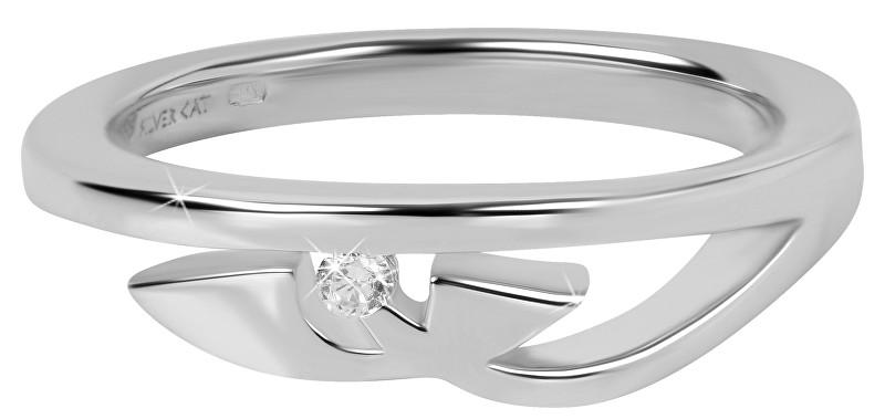 Silver Cat Strieborný prsteň pre ženy SC276 58 mm