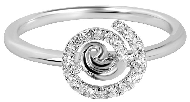 Silver Cat Stříbrný prsten se zirkony SC255 52 mm