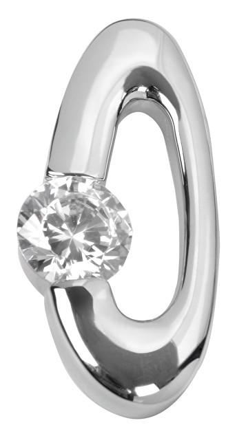 Silver Cat Stříbrný přívěsek s krystaly SC008