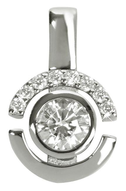 Silver Cat Stříbrný přívěsek s krystaly SC080