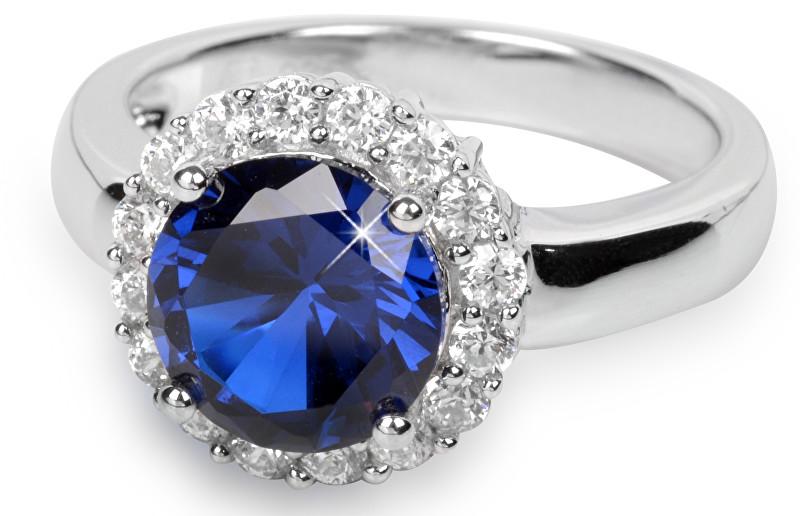 Silver Cat Stříbrný prsten s krystaly SC022 - SLEVA
