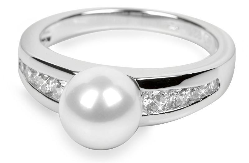 Silver Cat Stříbrný prsten s krystaly SC076 52 mm